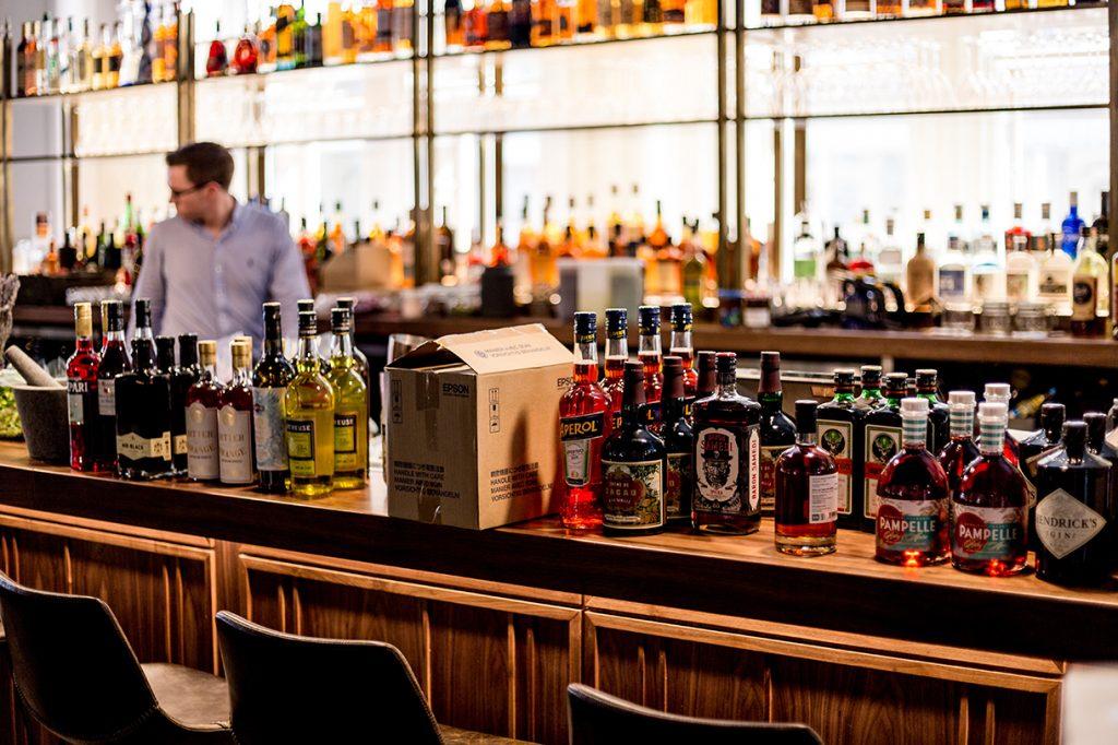 Inventario de bar
